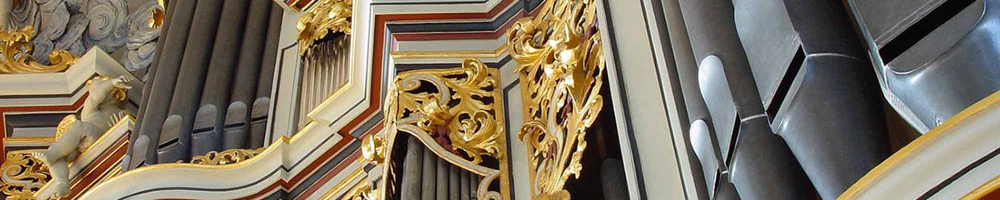 Ansicht der Orgel in der St. Marienkirche Berlin
