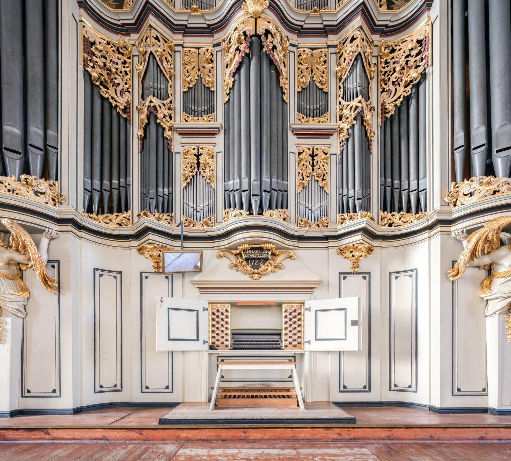 Ansicht der Orgel in der St. Marienkirche