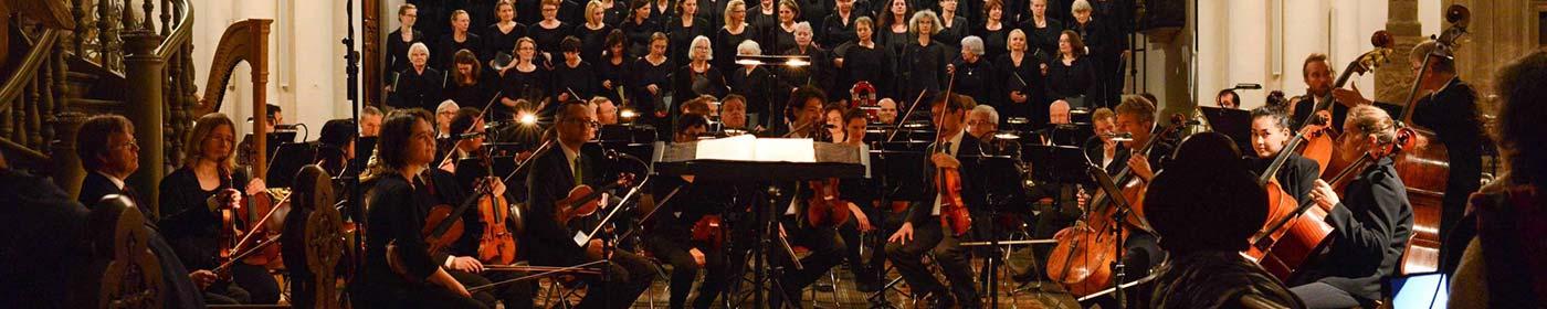 Die MarienKantorei Beim Konzert des Deutschen Requiems von Johannes Brahms
