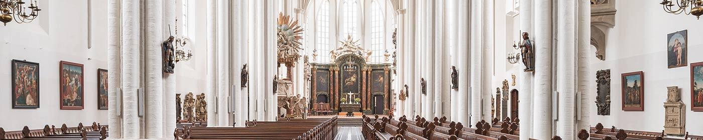 Altaransicht innerhalb der St.Marienkirche