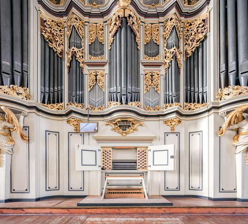 Ansicht der Wagner Orgel